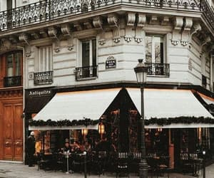 beautiful, cafe, and chic image