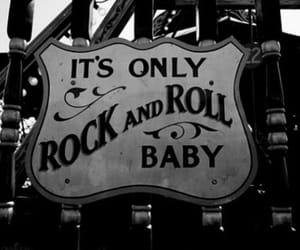 rock, rock and roll, and baby image