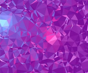 abstract, polygon, and ultra violet image