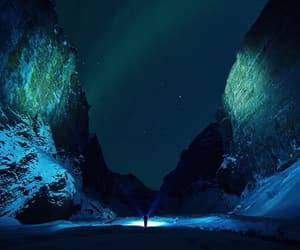 blue, night, and travel image
