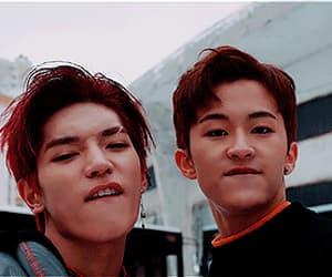 gif, mark, and taeyong image