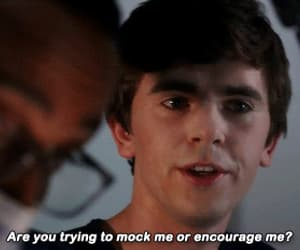 gif, freddie highmore, and the good doctor image