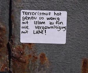 liebe, religion, and antifa image