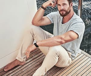 chris hemsworth, handsome, and Hot image