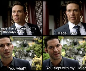 funny, lucifer, and series image