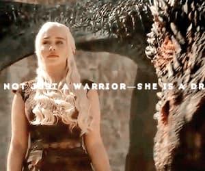 badass, daenerys targaryen, and game of thrones image