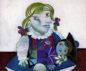 art, pablo, and portrait image