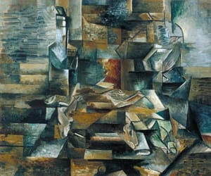 art, georges braque, and fish image