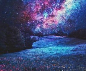 galaxy, stars, and night image