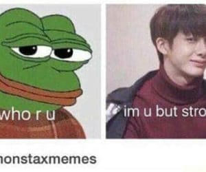 funny, korean, and loml image