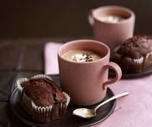 coffee, breakfast, and chocolate image