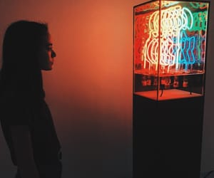 cool, grunge, and neon lights image