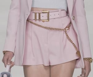 Versace, high fashion, and pink image