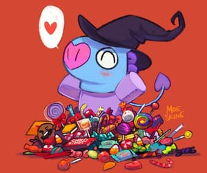 candy, fanart, and Halloween image
