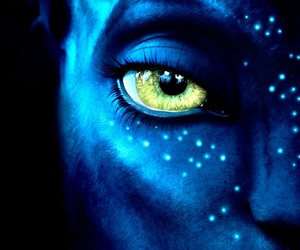avatar, blue, and eye image