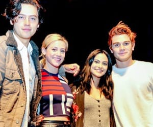 cast, cole sprouse, and lili reinhart image