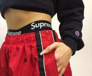 supreme, fashion, and style image