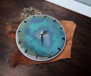 etsy, blue lagoon, and blue home decor image
