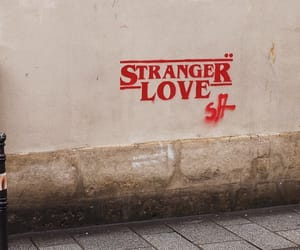 france, writing on the wall, and stranger things image