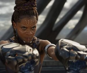 Marvel, shuri, and black panther image