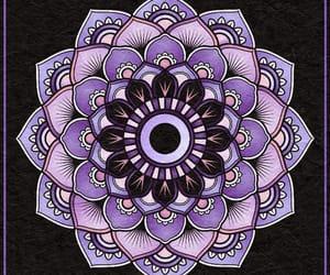 draw, ☪, and mandala image