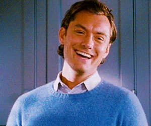 gif, jude law, and cute image