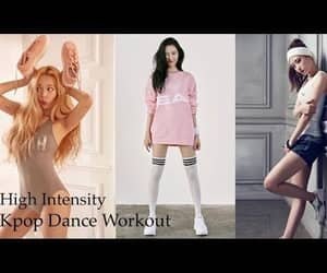 cardio, exercise, and dance image