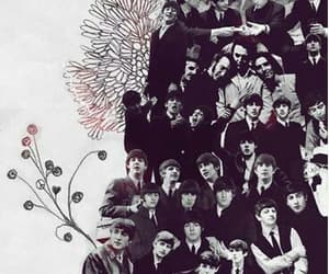 beatles, harrison, and music image