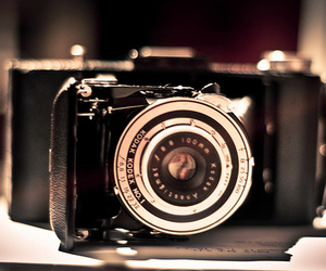 art, camera, and old image