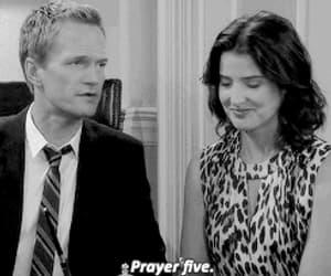 Barney Stinson, couple, and gif image