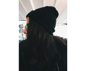 beanie, black, and hat image