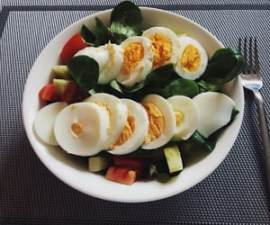 morning, healthy, and vegetable image