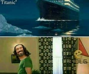 memes, titanic, and momos image
