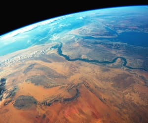 africa, cosmos, and earth image