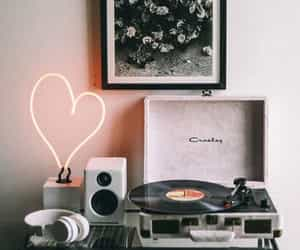 music, home, and vintage image