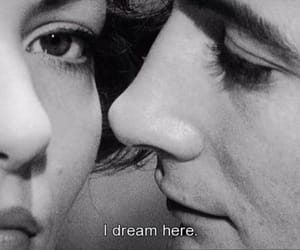 Dream, black and white, and couple image