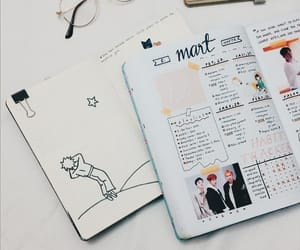 planner, study, and school image