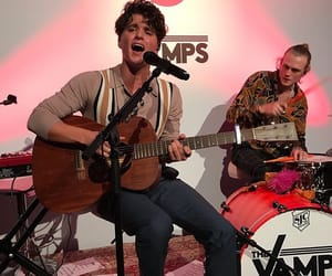 brad simpson, tristan evans, and the vamps image