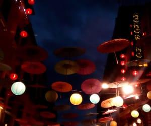 chinatown, chine, and Chinese Umbrella image