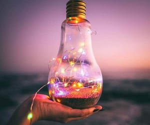 amazing, bulb, and decor image