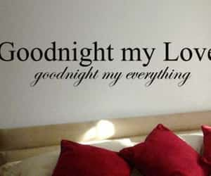 love, goodnight, and quotes image