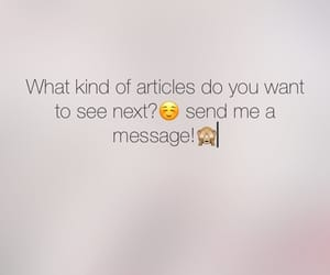 article, message, and writer image