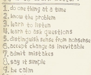 calm, listen, and mistakes image