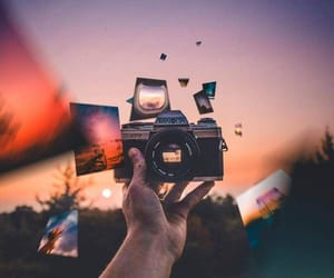 amazing, camera, and hand image