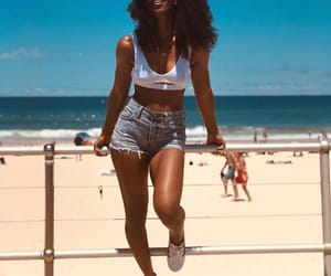 beach and style image