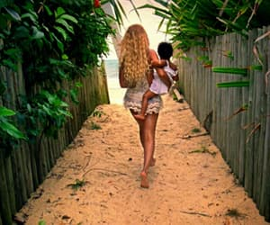baby, nature, and beyoncé image