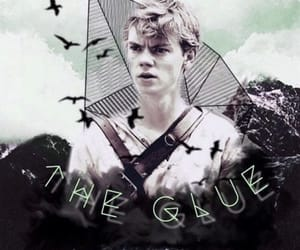 newt, the maze runner, and edit image