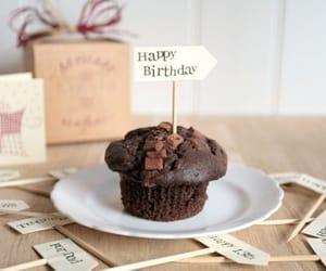 birthday, b'day, and chocolate image