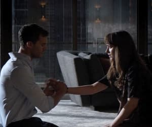 gif and christian grey image