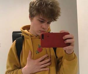 boy, aesthetic, and yellow image